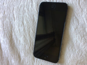 Space Grey iPhone 5, 8 GB, $70 only.