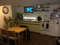 1-2 bedrooms available in East City - Sept-April Lease available