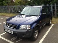 Honda CR-V Superb MOT TAX PERFECT DRIVE