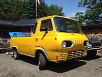 1963 ford econoline pickup and parts van