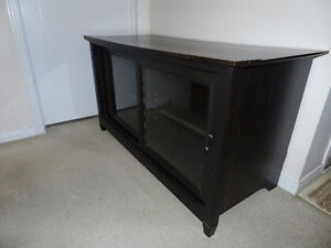 TV Unit Dark Brown in very good condition for $30