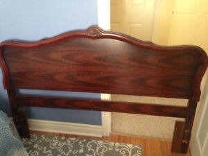 Queen/Double head board and bed frame