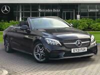 2021 Mercedes-Benz C Class C220d AMG Line 2dr 9G-Tronic Auto Convertible Diesel