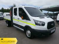 2018 Ford Transit 350 DRW Double Cab Crew Cab Tipper Tipper Diesel Manual