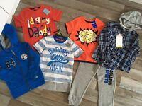 Brand new boys 4-5yrs clothes bundle