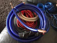 Full wiring kit 0 awg wiring kit