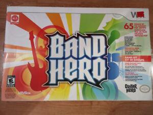 Ensemble de jeu Wii band hero