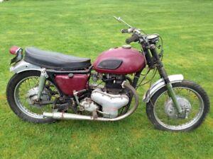 Rare Vintage Collector 1967 Kawasaki W1 650cc - $3,000