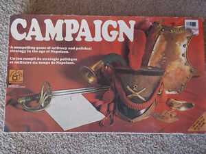 """Vintage """"CAMPAIGN"""" Strategy Board Game-1974"""