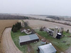 200 Acre Farm - 5 Bdrm House, Barn & Out-buildings