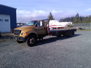 Ford F750  lots of recent work!