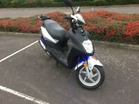 Sym Symply 50cc moped ( with blue under-glow! ) £650