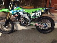 2013 kxf 250 loads of extras