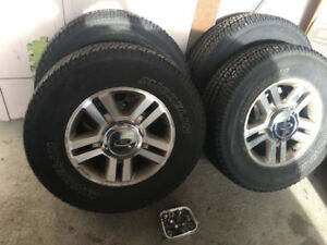 Newish Ford F-150 tires and wheels