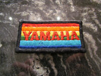 YAMAHA MOTORCYCLE VINTAGE PATCH - NEW
