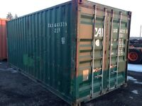 Used Cargoworthy Containers, steel sea containers, storage
