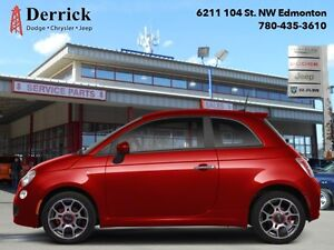 2012 Fiat 500   Used 2 Dr Sport Asin Tran Sunroof Htd Sts $64 B/