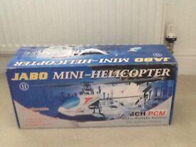 Boxed Jabo mini helicopter