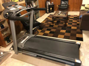 Everlast boxing bag with stand and tempo fitness treadmill