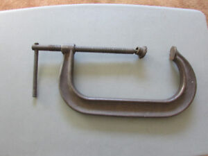 Deep throat Clamps, one 10 inch, one 3 inch