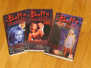 BUFFY- CONTRE LES VAMPIRES * LOT VOL. 2- 6- 24/ littérature