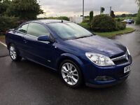 Vauxhall Astra 1.8 16v Design 57 REG Twin Top Convertible Cabriolet Big Spec 1/2 leather cruise more