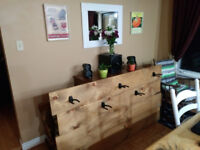 Pine Instrument Racks and House Number Signs/Planters!