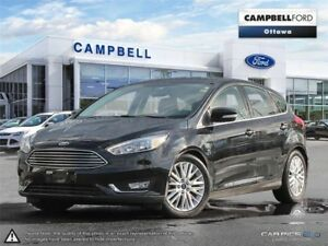 2016 Ford Focus Titanium NAV-LEATHER-POWER ROOF GREAT BUY