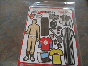 Big Bang Theory fridge magnets brand new in package