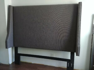 BNWT - Upholstered queen headboard