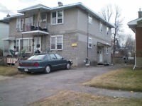 1+2 Downstairs apt Avail Nov 1st-includes heat and hot water.