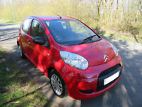 2011 '11' CITROEN C1 1.0i VTR 5 DOOR HATCH IN BRIGHT RED ONLY 58,000 MILES