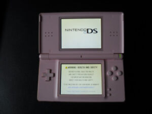 Nintendo DS Lite with Case and 7 Games