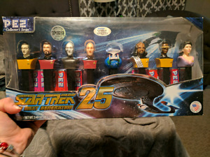 Star trek next generation pez