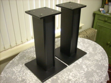 SPEAKER STANDS (with Stylish Inverted Panel) Brompton Charles Sturt Area Preview