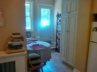 COMPLETELY RENOVATED DOWNTOWN 2 BEDROOM