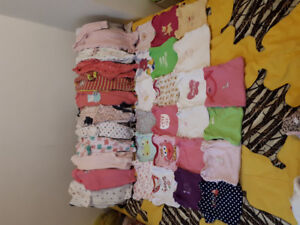 Baby girl clothes lot 3-6 months