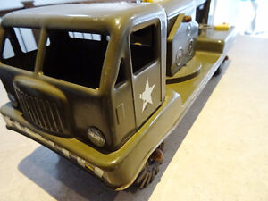 1950s NYLINT PRESSED STEEL electronic cannon truck WORKING Kitchener / Waterloo Kitchener Area image 2