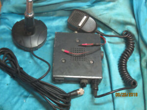 CB Radio with Mic. and Antenna