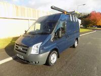 FORD TRANSIT 300 SWB SEMI HIGH 2.2 FWD 85 BHP 2010 60 IN BLUE