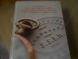 The Law & Business Administration in Canada
