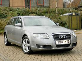 2006 06 Audi A6 AVANT 2.7 TDI SE Quattro 5dr WITH LTHR+SATNAV+DYNAMIC RIDE