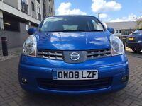 Nissan Note 1.4 excellent drive (08 Reg ) 12 months mot HPI clear