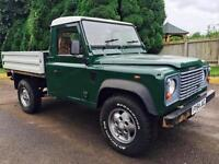 2004 '54' Land Rover Defender 110 Drop side / flat bed / pickup!