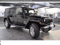 2011 JEEP WRANGLER UNLIMITED SAHARA (40,000 KMS) $188