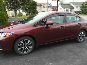 2015 Honda Civic EX 4-Door Sedan