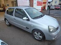 RENAULT CLIO 1.2 16v EXTREME 4 NEW MOT ISSUED ON PURCHASE DRIVES VERY WELL