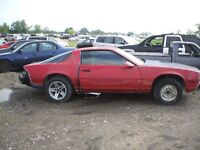 PARTING OUT: 1984 CHEVROLET CAMARO