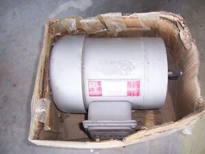 Industrial 3 phase 208-230/460 VAC electric motor