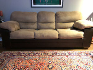 "Exceptional Sleeper Sofa with Ottoman For Sale (86"" wide)"